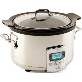 Low priced 4-Quart Ceramic Slow Cooker By All-Clad