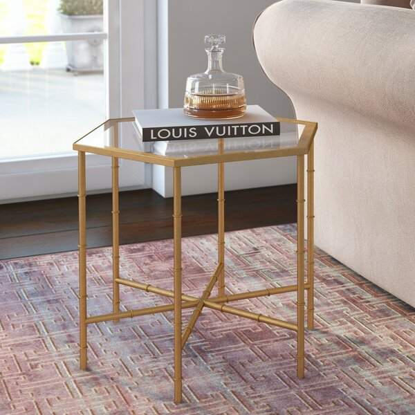 Blackshale End Table by Willa Arlo Interiors