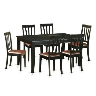 Dudley 7 Piece Dining Set By Wooden Importers Cheap