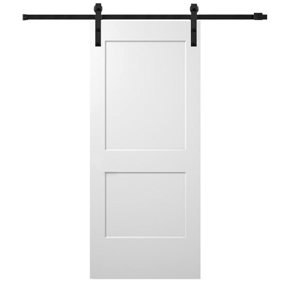 Monroe Panelled MDF Slab Interior Barn Door by Verona Home Design