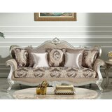 Hazlett Velvet 85 Rolled Arms Sofa by House of Hampton®