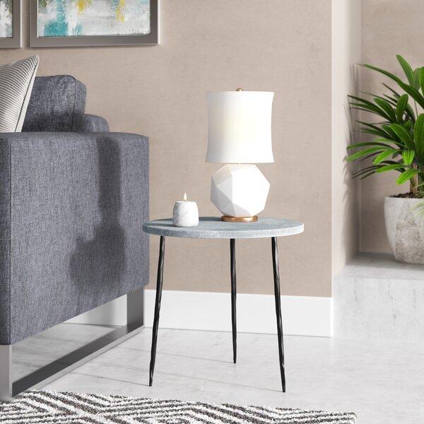 Atropos Medium End Table by Brayden Studio