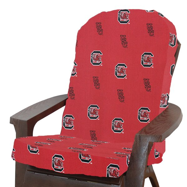 NCAA South Carolina Indoor/Outdoor Adirondack Chair Cushion by College Covers
