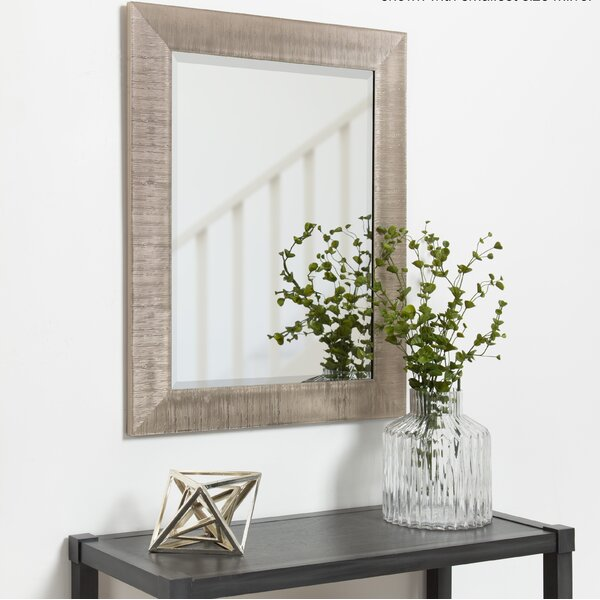 Steinber Framed Rectangle Accent Mirror by Bay Isl