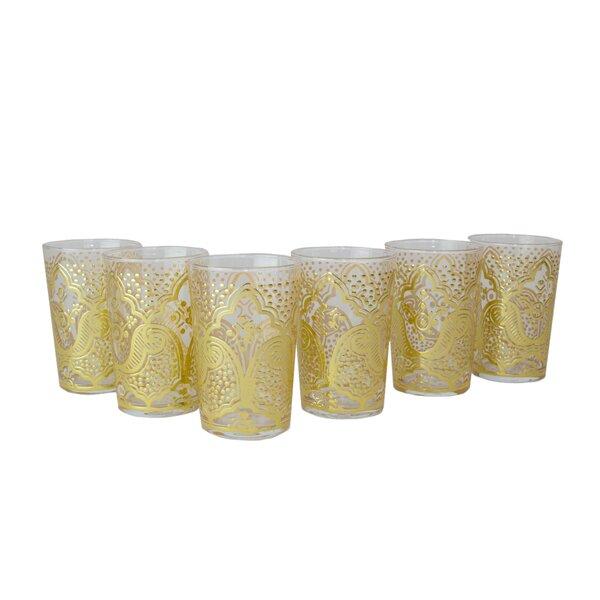 Luxury EI Kef Tea Glass (Set of 6) by Casablanca Market