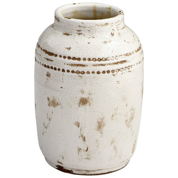 Aztec Terracotta Pot Planter by Cyan Design