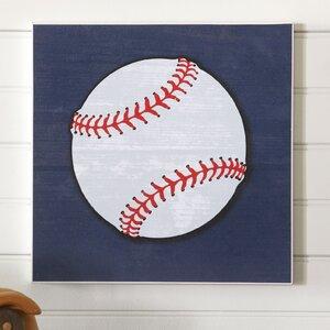 Baseball Sports Center Wall Art by Birch Lane Kids™