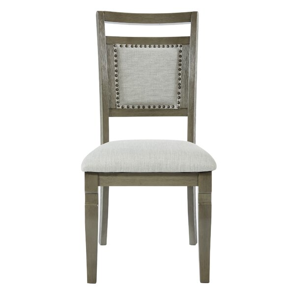 Holleman Upholstered Dining Chair (Set of 2) by Gracie Oaks