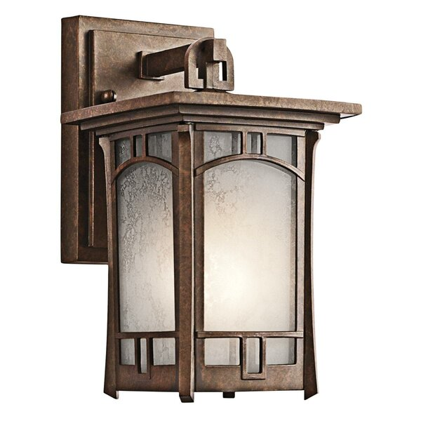 Forster 1-Light Outdoor Wall Lantern by Millwood Pines