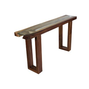 Michaela Live Edge Console Table by Foundry Select