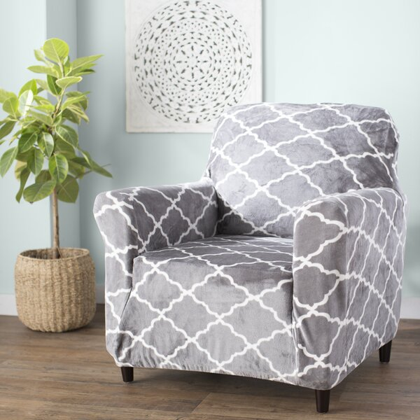 T-Cushion Armchair Slipcover By Alcott Hill