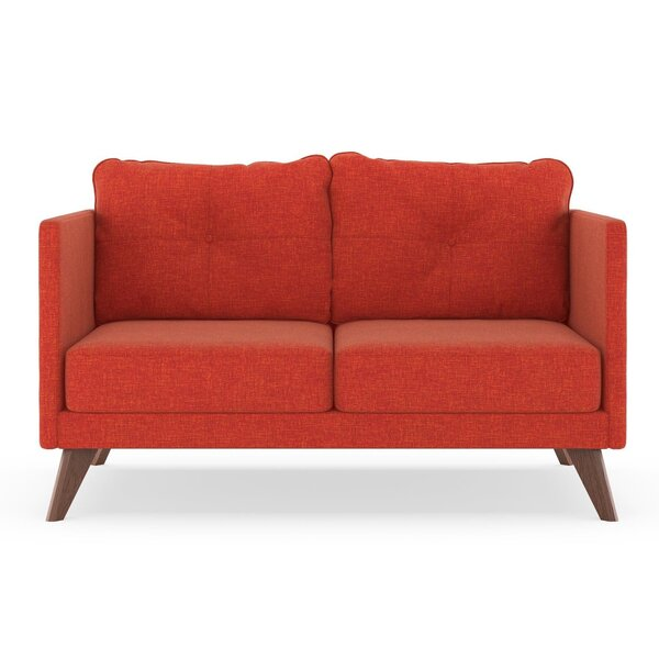 Covey Cross Weave Loveseat By Corrigan Studio Best Choices