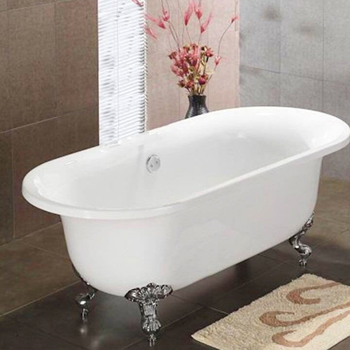 Alcott Hill Vernon Clawfoot 70 Quot X 31 Quot Soaking Bathtub