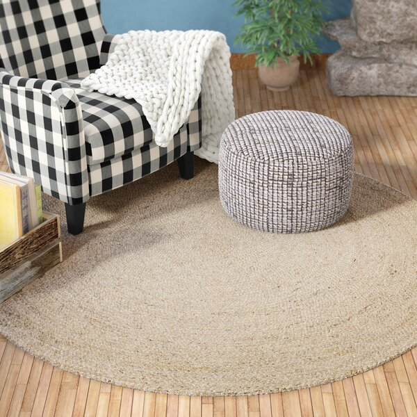Hand-Woven Ivory Area Rug by Birch Lane™