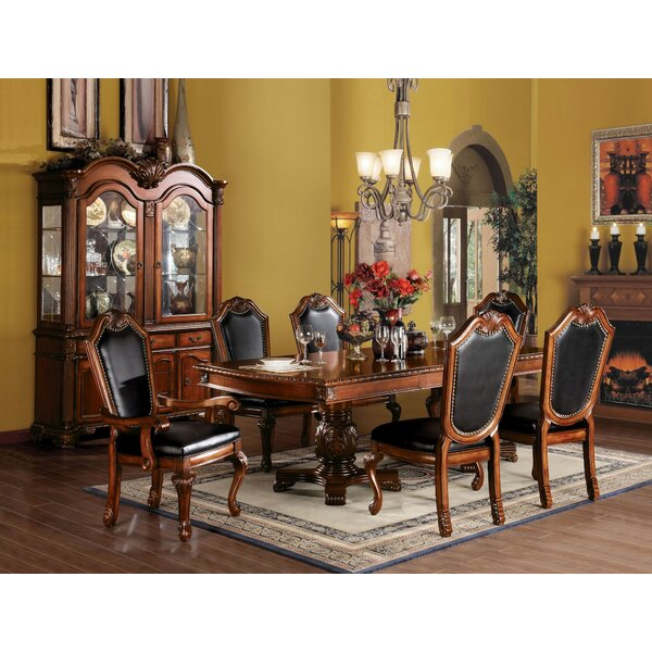 Suzi 7 Pieces Extendable Dining Set by Astoria Grand