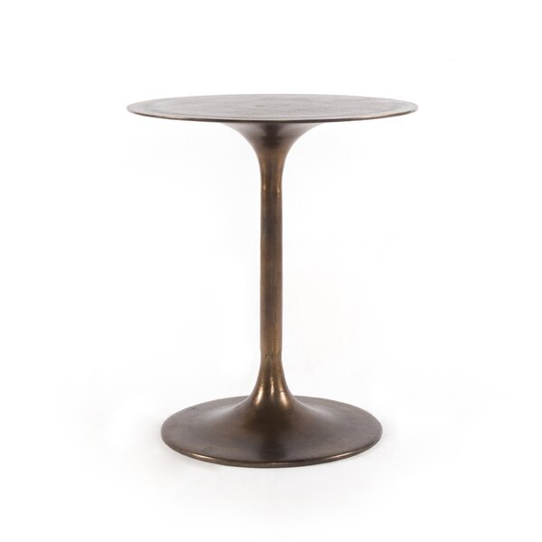 Bevis Metal Side Table by 17 Stories