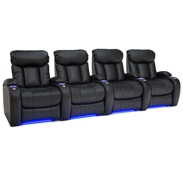 Home Theater Row Seating (Row Of 4) By Latitude Run