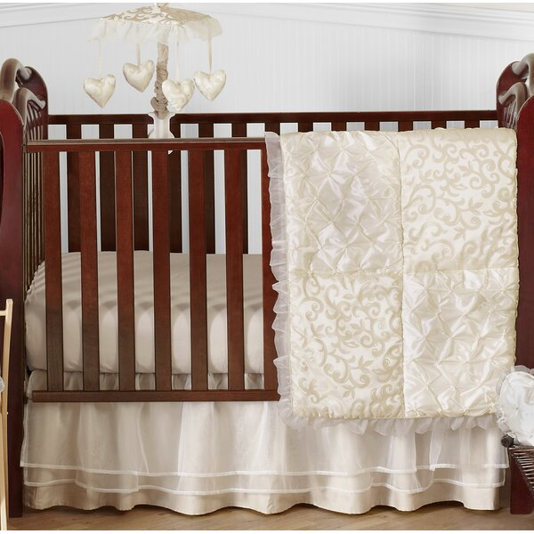 Victoria 4 Piece Crib Bedding Set by Sweet Jojo Designs