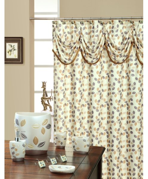 Sabrina Decorative Shower Curtain by Daniels Bath