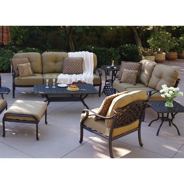 Lincolnville 4 Piece Sofa Set with Cushions by Fleur De Lis Living