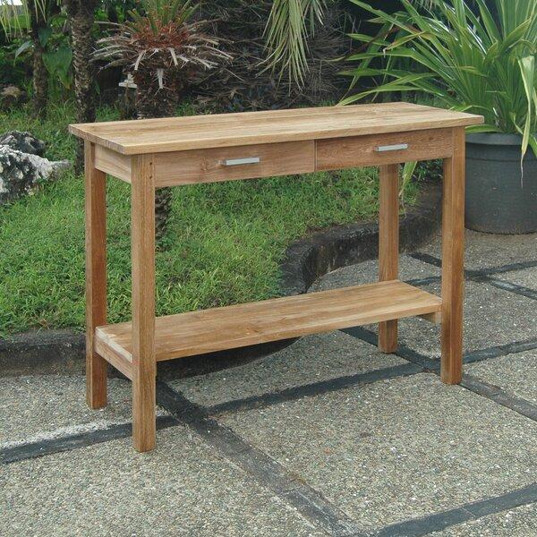 Modena Solid Wood Bar Table by Anderson Teak Anderson Teak