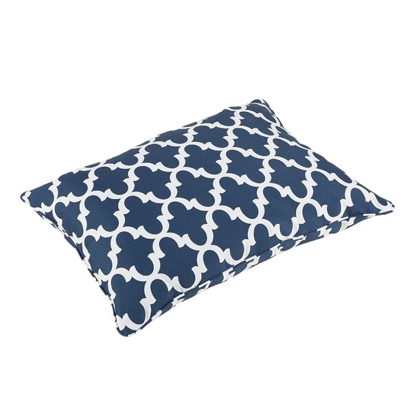 Amstel Piped Edge Indoor/Outdoor Floor Pillow by Darby Home Co