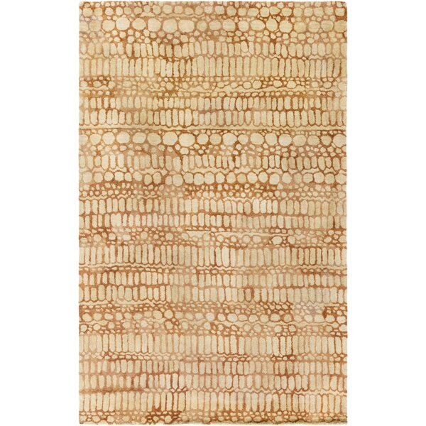Natural Affinity Hand-Tufted Yellow Area Rug by Shell Rummel