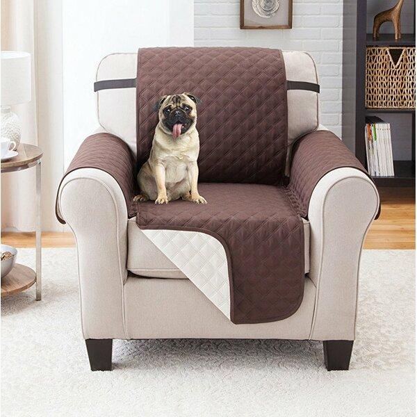Reversible Armchair Slipcover by Winston Porter
