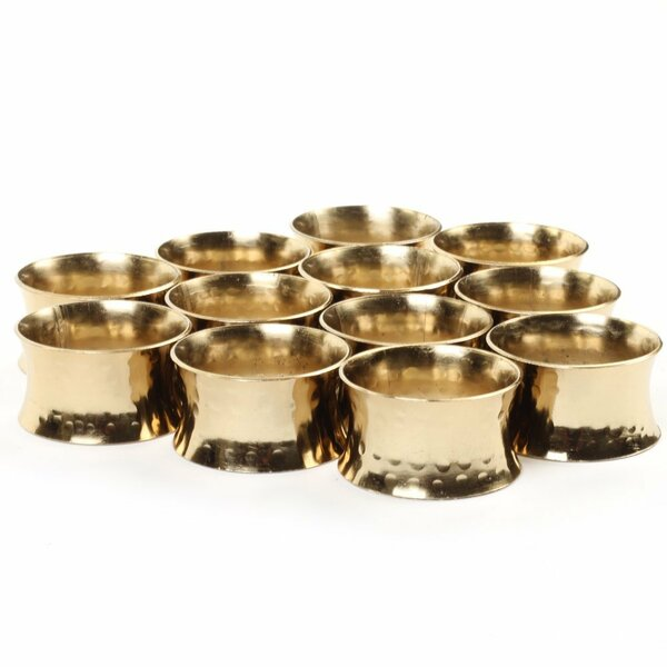 Napkin Rings (Set of 12) by Mistana