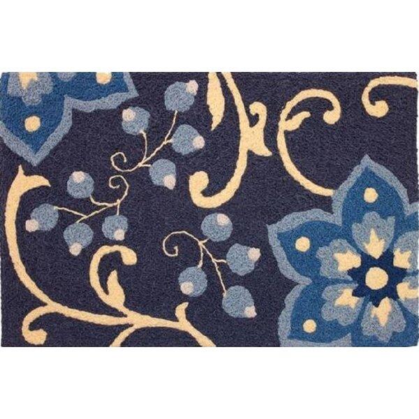Kayser Handmade Tufted Blue Indoor/Outdoor Area Rug
