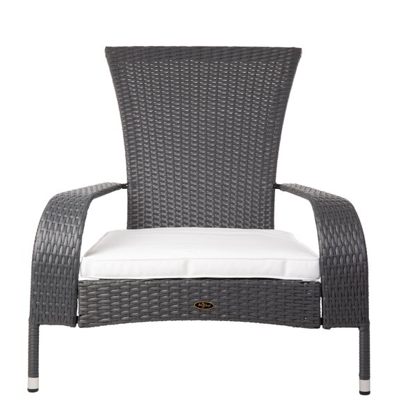 Jakin Patio Chair with Cushions by Bay Isle Home Bay Isle Home