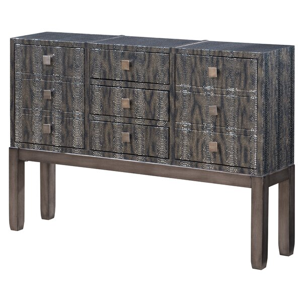 Vecellio 9 Drawers Standard Dresser by World Menagerie