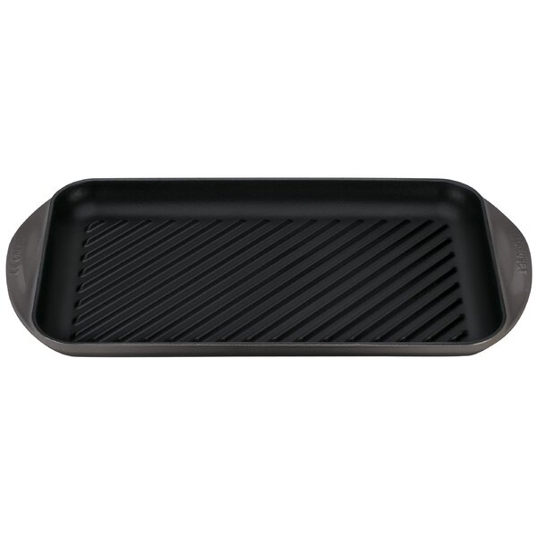 Enameled Cast Iron 15.75 Double Burner Grill Pan by Le Creuset