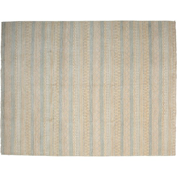 One-of-a-Kind Modern Hand-Knotted Beige Area Rug by Darya Rugs