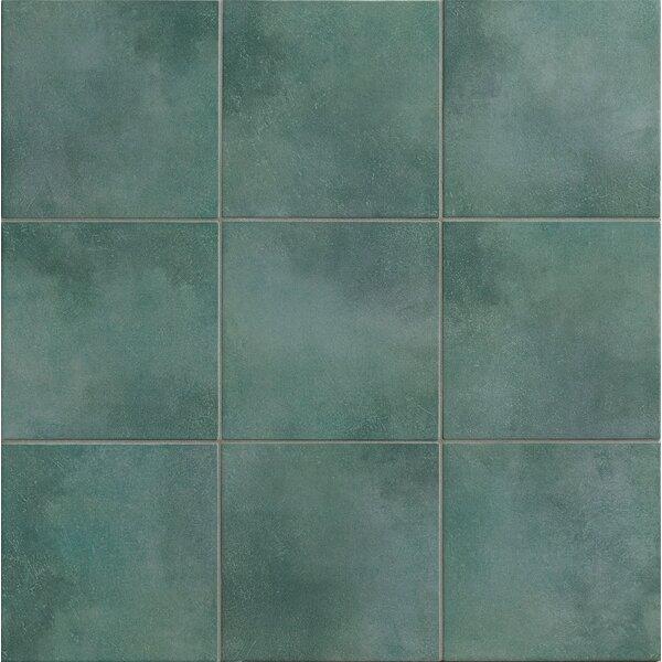 Poetic License 3 x 3 Porcelain Mosaic Tile in Lake by PIXL