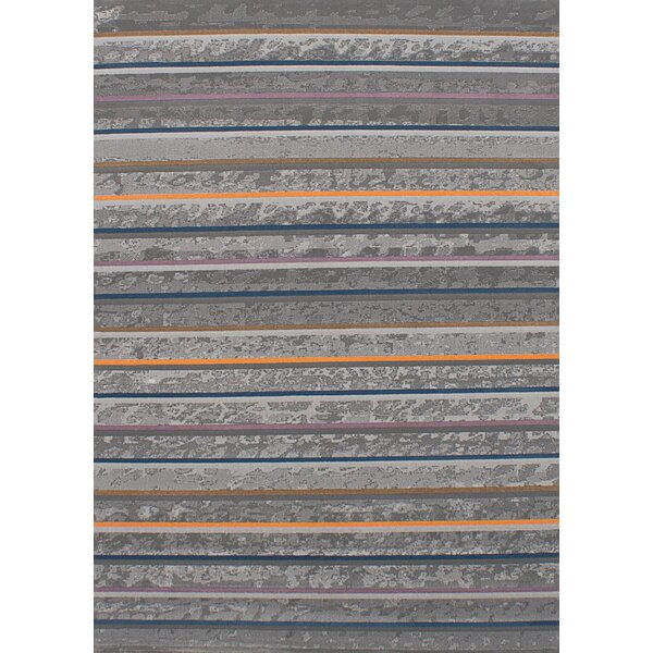 Lees Gray Area Rug by Latitude Run
