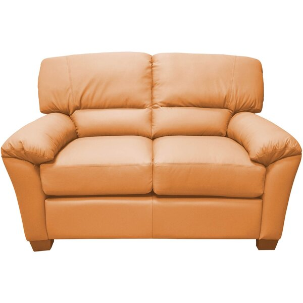 Best Reviews Of Cedar Heights Loveseat by Omnia Leather by Omnia Leather