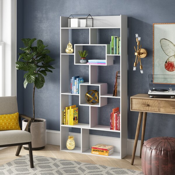 Canal Street Geometric Bookcase by Ivy Bronx