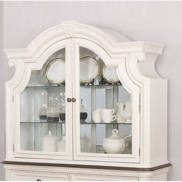 Lighted China Cabinet by One Allium Way One Allium Way
