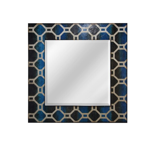 Bancroft Geometric Framed Accent Mirror by Bloomsbury Market