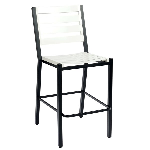 Palm Coast 29.75 Patio Bar Stool by Woodard