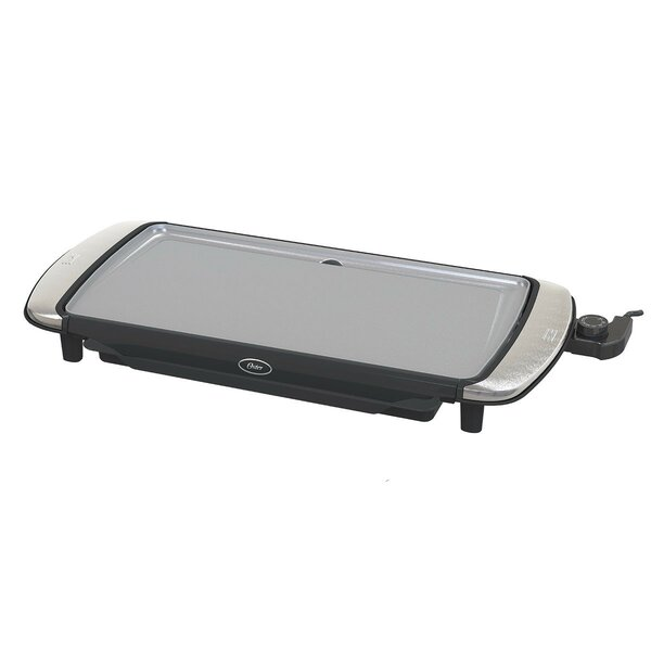 Non-Stick Griddle with Warming Tray by Oster