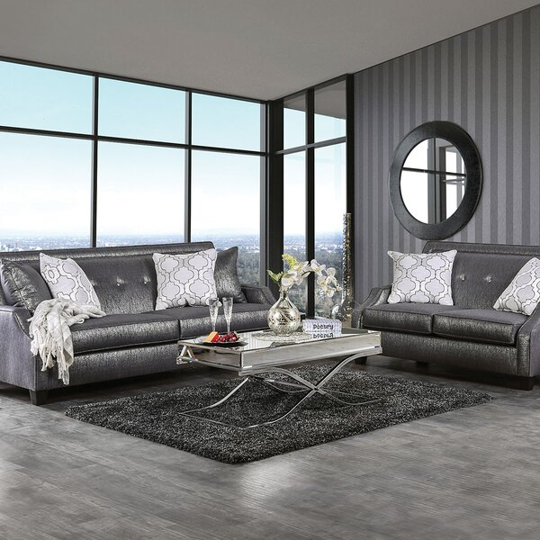 Licon 2 Piece Living Room Set by Rosdorf Park
