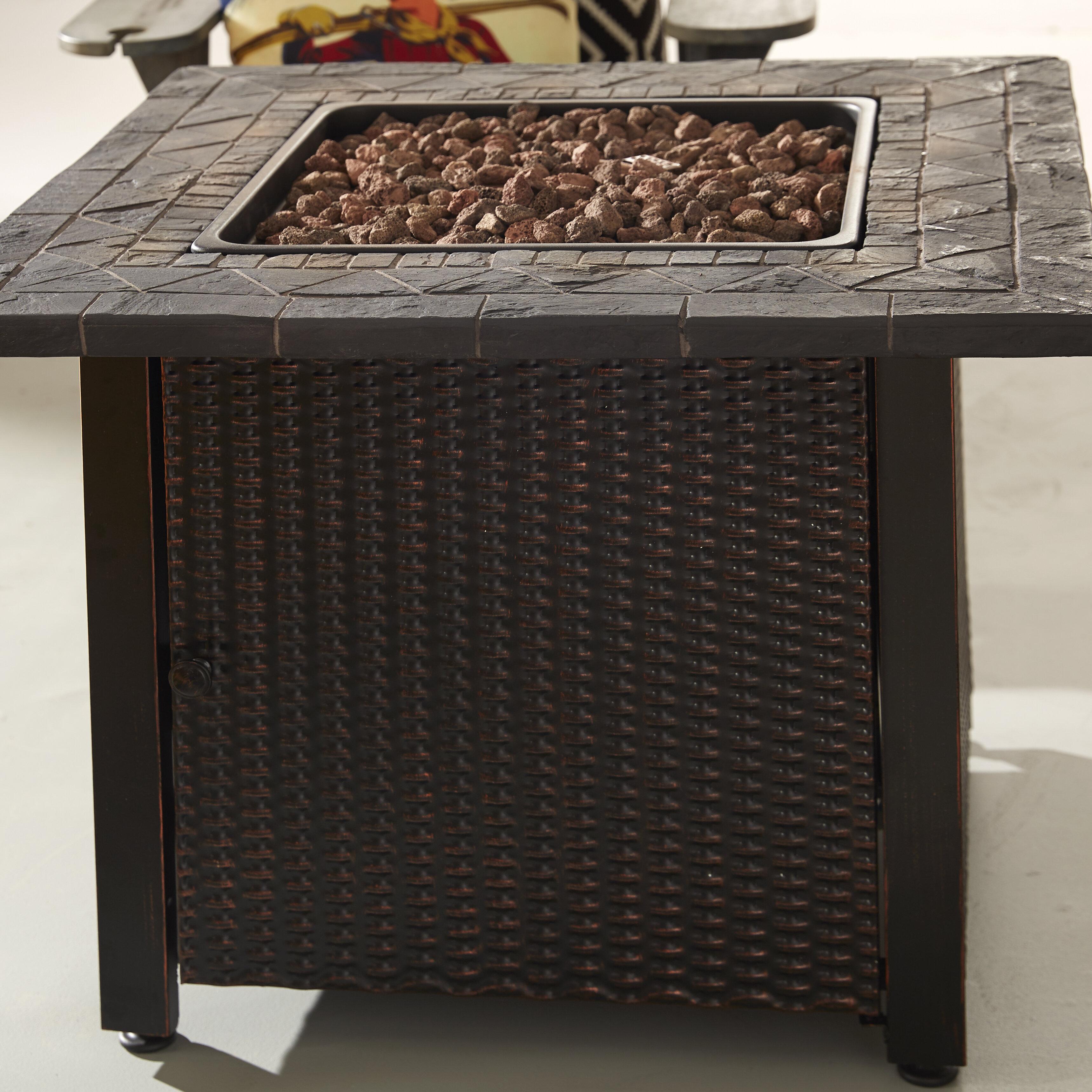 Endless Summer Outdoor Propane Fire Pit Table Reviews Wayfair
