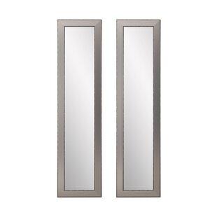 Best Reviews Vinson Full Length Mirror (Set of 2) ByCharlton Home