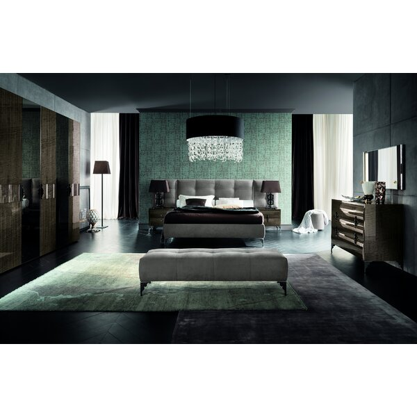 Dune Queen Platform Configurable Bedroom Set by Rossetto USA