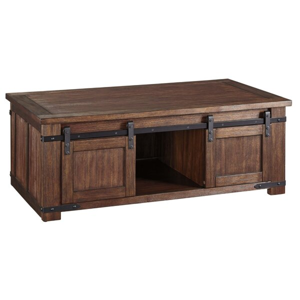 Oneman 4 Legs Coffee Table With Storage By Foundry Select
