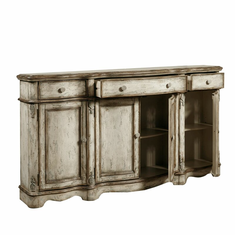 Ilyan Traditional Wood Sideboard