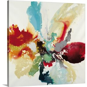 'Color Expression' by Randy Hibberd Painting Print on Canvas by Canvas On Demand