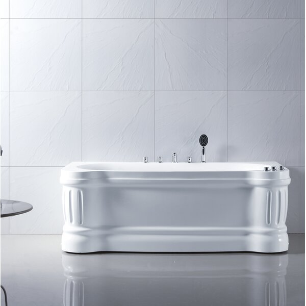 Ucore 67 x 34 Freestanding Soaking Bathtub by UCore